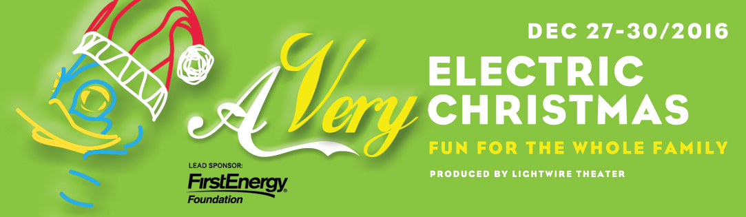 Very Electric Christmas Web Banner